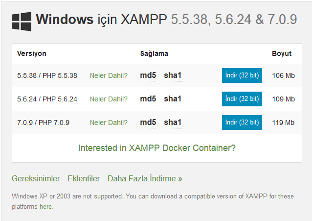 xampp-kur1