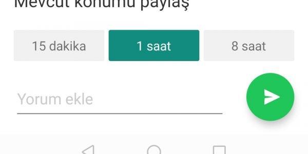 Whatsapp Konum Gönderme7