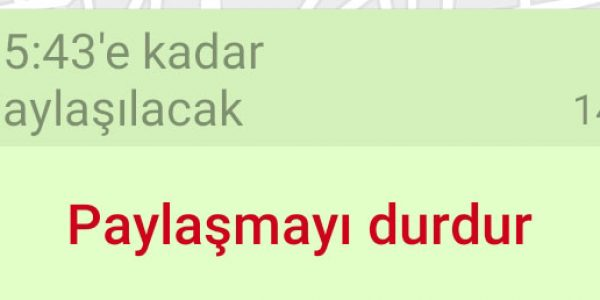 Whatsapp Konum Gönderme8