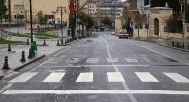 30 büyükşehir ve Zonguldak'ta Sokağa Çıkma Yasağı